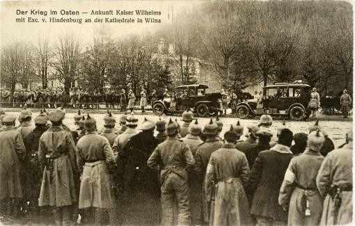 Kaizeris Vilhelmas Vilniuje 1915 m.