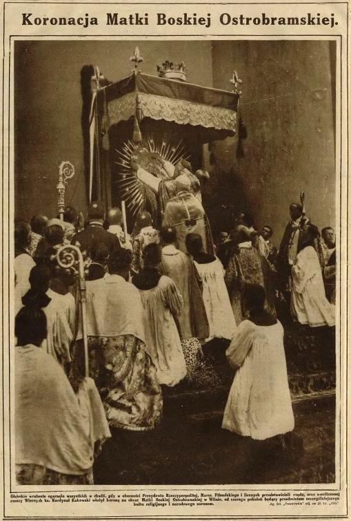 Aušros Vartų Mergelės karūnavimo iškilmės 1927 m. liepos 9 d.